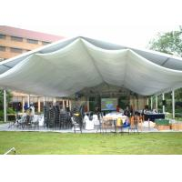 Quality Clear Span 100 - 200 People Outdoor Event Tent Movable Aluminum Frame Material for sale