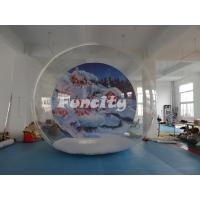 Wholesale Outdoor Camping Clear Single Inflatable Bubble Room For Christmas Party from china suppliers