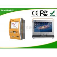 Wholesale Metal Casing Windows Pc Self Service Banking Kiosk Built In Touch Screen Displays from china suppliers