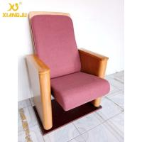 Wholesale Customized Metal Floor Mounted Polywood Stand Theater Chairs For Church Halls from china suppliers