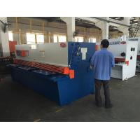 Wholesale Swing Beam Sheet Metal Shearing Machine CNC System 6 Mm Cutting Thickness from china suppliers