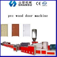 Wholesale Recycling WPC Extrusion Machinery For PVC Wood Door , Mold 800mm from china suppliers