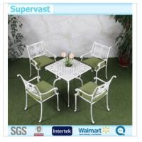 Wholesale Outdoor Cast Aluminum Garden Set / Cast Aluminum Chairs And Tables For Balcony from china suppliers