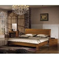 Wholesale China simple design wood double bed from china suppliers