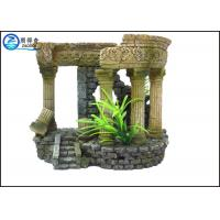 Wholesale Portable Aquarium Resin Ornaments Aquatic Creations Corner Columns For Home from china suppliers