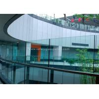 Wholesale Window Laminated Safety Glass , 10mm Clear Tempered Glass Panel for Office from china suppliers