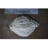 Wholesale White Oral Anabolic Steroids Dbol / Dianabol Methandienone Powder CAS 72-63-9 from china suppliers