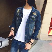 Wholesale 100 Percent Cotton  Simple Design Mens Jean Jackets , Mens Fashion Denim Jacket from china suppliers