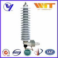 Wholesale 36KV Medium Voltage Single Phase Surge Arrester For 10KA Transformer from china suppliers