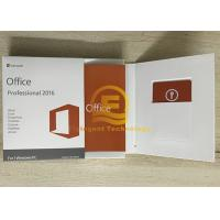 Wholesale Original Office 2016 Retail Box 32/64 Bit For 1 Windows PC Full Version from china suppliers