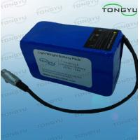 Wholesale Over-charge Durable Rechargeable Lithium Battery Pack 25.9V 10Ah For Powakaddy / Motocaddy from china suppliers