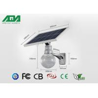 Wholesale 6500K 12W solar panel Outdoor LED Street Lights , led sun light solution high power from china suppliers