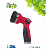 China 8 Pattern Adjustable Water  Spray Hose Nozzle on sale