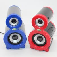 Wholesale Cool New Red Mini for Mp3 Phone Music Player Laptop Computer PC USB Speaker from china suppliers