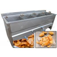 Wholesale 4 Basket Commercial Automatic Snack Deep Fryer Machine Gas Heating from china suppliers