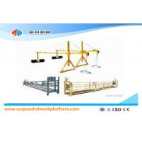 Wholesale Steel / Hot Galvanized / Aluminium Alloy Rope Suspended Platform 1.5KW 380V 50HZ from china suppliers
