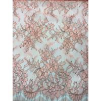Wholesale Coloured Designs Chantilly Lace For Wedding Dresses , French Lace Fabric from china suppliers
