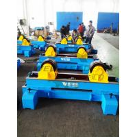Wholesale Tank Turning Rolls Rotate 10Ton Motorised Move On Rails Hydraulic transverse swing from china suppliers
