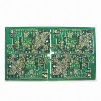Wholesale Four-layer PCB with ENIG and Gold Plating from china suppliers