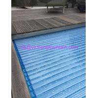 Wholesale Automation Swimming Pool Control System Inground Type Pool Covers With Polycarbonate Mat from china suppliers