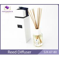 Quality custom Rose Essential Oil Reed Diffuser 80ml home fragrance diffuser for sale