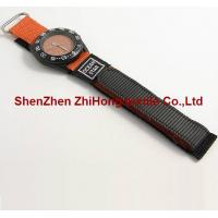 Wholesale New style replaceable sewn nylon hook loop webbing watch wrist band ties from china suppliers