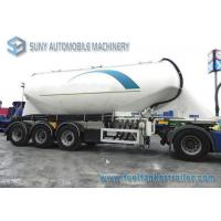 Wholesale 36 CBM Bulk Cement Tanker Semi Conoid Shape With High Capacity from china suppliers