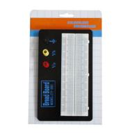 Wholesale Black Aluminum Backing Plate Solderless Breadboard Kit 830 Tie Points from china suppliers