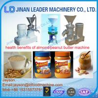 Wholesale high capacity industrial peanut butter making machine from china suppliers