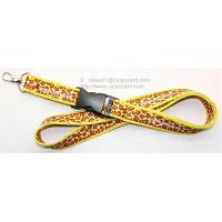 Buy cheap Neoprene lanyards supplier, overlocked neoprene lanyards wholesale, from wholesalers
