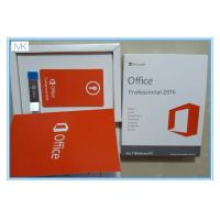 Buy cheap Microsoft Windows Software / Microsoft Office 2016 Pro Plus For 1 Windows/PC Life Time from wholesalers