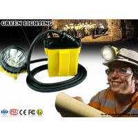 Wholesale IP68 Explosion Proof  Miners Cap Lamp , CREE 25000 Lux Miners Headlamp from china suppliers