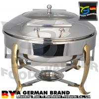 China Buffet Catering Chafing Dish Tray Food Warmer High End Machanical Hinge SUS304 on sale