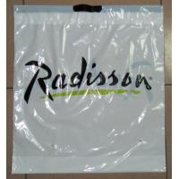 Wholesale Customized White Plastic Drawstring Bags / Ribbon Drawstring Poly Bags from china suppliers