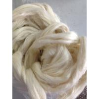 Buy cheap 100% Natural Raw Short Hemp Fiber Breathable for Spinning And Weaving from wholesalers