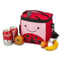 Wholesale Polyester Red Freezer Lunch Bags For Kids , Cute Cooler Bags Insulated from china suppliers