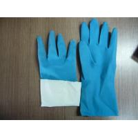 Wholesale flocklined rubber household latex gloves from china suppliers