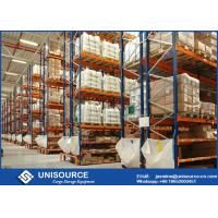 Wholesale Hot Rolled Q235 Racking System For Warehouse , Industrial Steel Shelving OEM from china suppliers