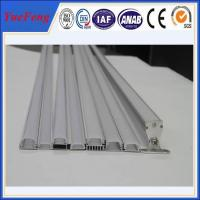 Wholesale 6063 T5 led aluminum profile for led strip lights, aluminium led lighting profile from china suppliers