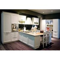 Quality Classic White PVC Kitchen cabinet for sale
