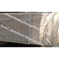 Wholesale Single Row Finned Aluminum Tubing Height 20mm x 1mm Thickness from china suppliers