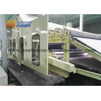 Wholesale Hihg Performance Non Woven Fabric Making Machine , Non Woven Fabric Production Line from china suppliers