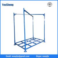 Buy cheap Foldable Warehouse Storage Stacking Rack for fabrics, tires, cartons from wholesalers