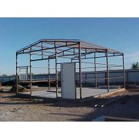 Wholesale Q235 / Q345 Movable Agricultural Steel Frame Buildings Pre Engineered Steel Structure from china suppliers