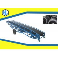 Wholesale Q235 Material Metal Inclined Belt Conveyor Machine 10 - 26 ° Slope Angle from china suppliers
