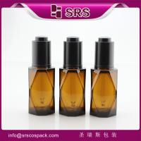 Wholesale SRS036-40ML C thick wall PETG plastic dropper bottle for essential oil from china suppliers
