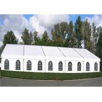 Wholesale Aluminum Frame White Marquee Tents Wedding Party Tents With Beautiful Roof Lining from china suppliers