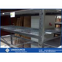 Quality Adjustable Warehouse Storage Racking 1955 X 609 X 1828Mm With Interlocking Wire Decks for sale
