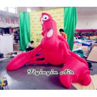 Wholesale Inflatable Cartoon Decorations, Inflatable Shrimp for Beach and Events from china suppliers