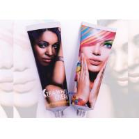 Wholesale Round Cosmetic Tube Packaging Suppliers Open / Elongated / Sealed Nozzles from china suppliers